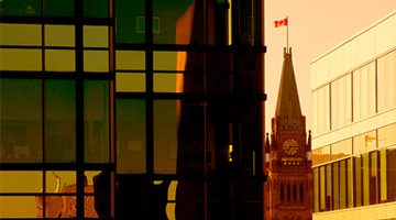 Canadian Parliament tower picture